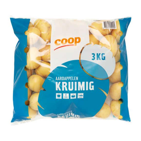 Kruimige aardappelen groen product photo