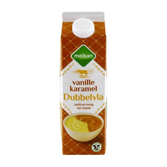 Melkan Vanille karamarmel dubbelvla product photo