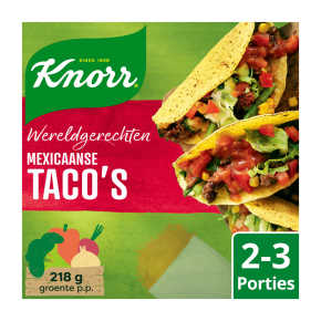Knorr Wereldgerechten taco's product photo