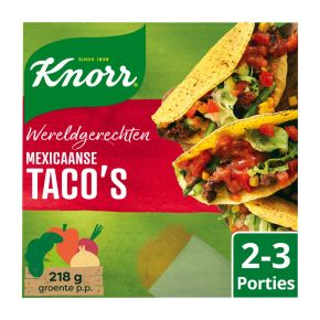 Knorr Wereldgerechten taco's product photo