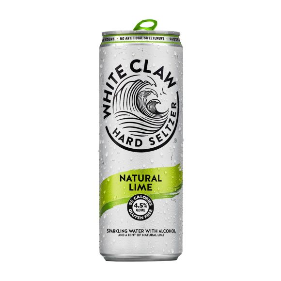 White Claw Natural lime product photo
