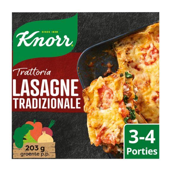 Knorr Wereldgerechten trattoria lasagne tradizionale product photo