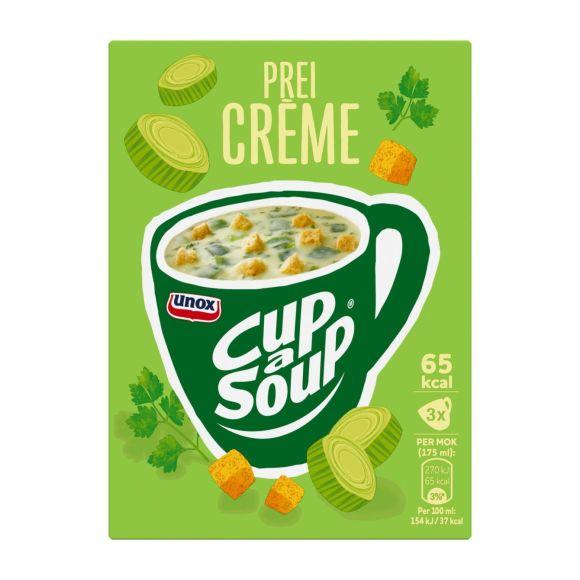 Unox Cup-a-soup prei creme product photo