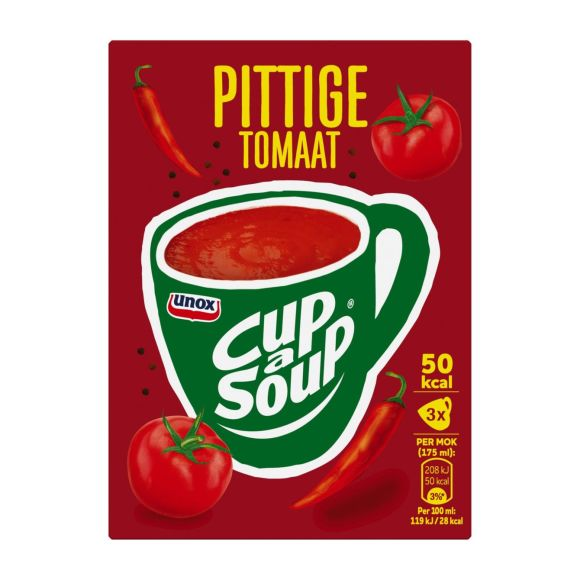 Unox Cup-a-soup spicy tomato product photo