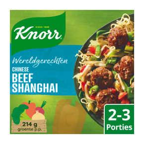 Knorr Wereldgerechten beef shanghai product photo