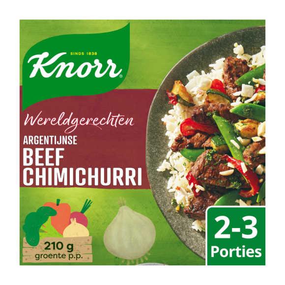 Knorr Wereldgerechten beef chimichurri product photo