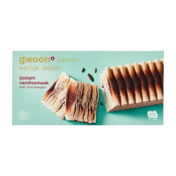 g'woon IJsstam vanillesmaak product photo