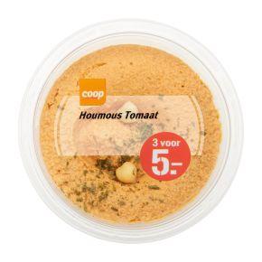 Coop Tapas hummus zongedroogde tomaat product photo