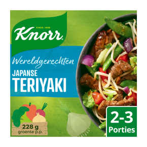 Knorr Wereldgerechten teriyaki product photo