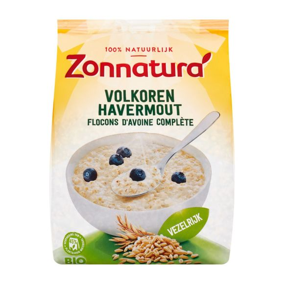 Zonnatura Volkoren havermout product photo