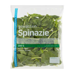 Spinazie product photo