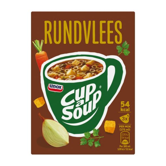 Unox Cup a-soup rundvlees product photo