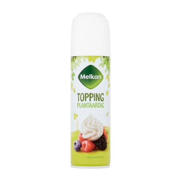 Melkan Plantaardige topping soja product photo