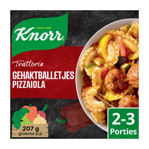 Knorr Wereldgerechten trattoria gehaktballetjes pizzaiola product photo
