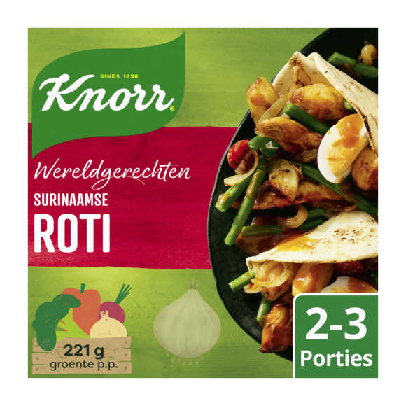 Knorr Wereldgerechten roti product photo