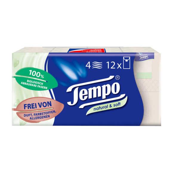 Tempo Natural & soft zakdoeken product photo