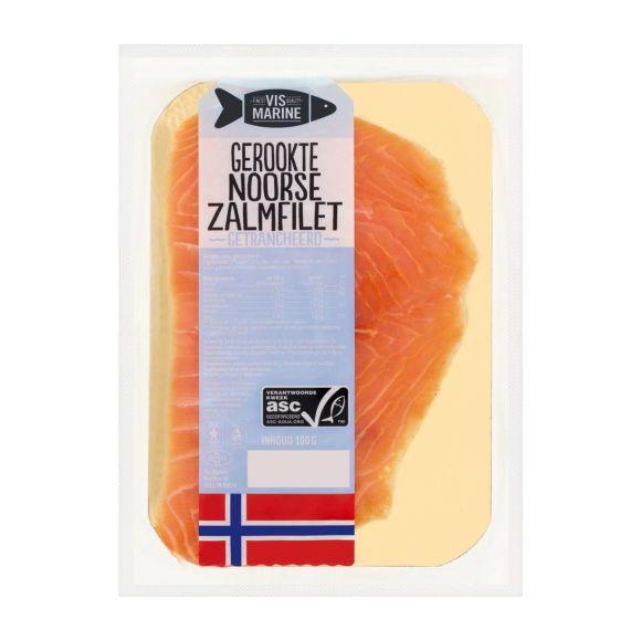 Vismarine Gerookte Noorse zalm product photo