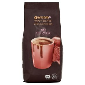g'woon Hot chocolate product photo