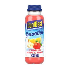 Coolbest Smoothie aardbei banaan sinaasappel product photo