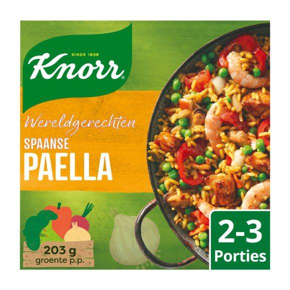 Knorr Wereldgerechten paella product photo