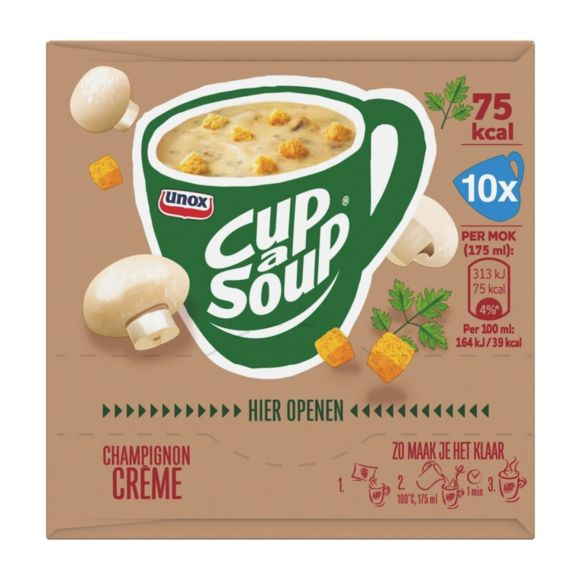Unox Cup-a-soup champignon creme 10 pack product photo