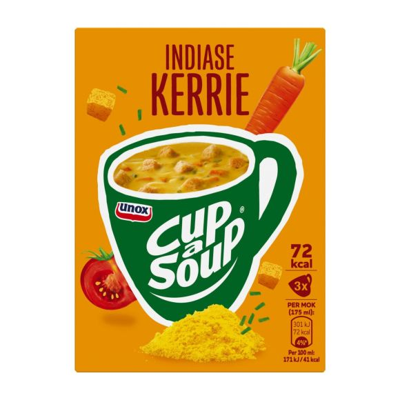 Unox Cup-a-soup indiase kerrie product photo