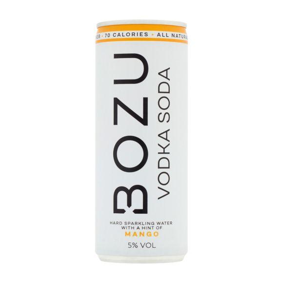 Bozu Vodka soda mango product photo