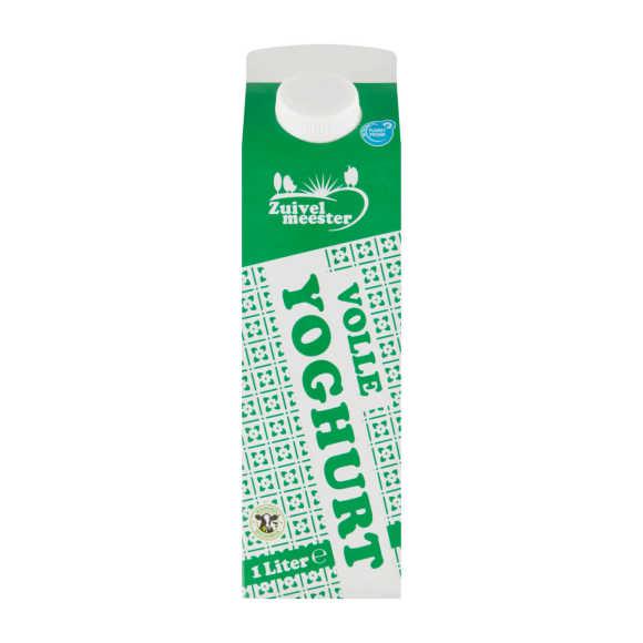Zuivelmeester Volle yoghurt product photo