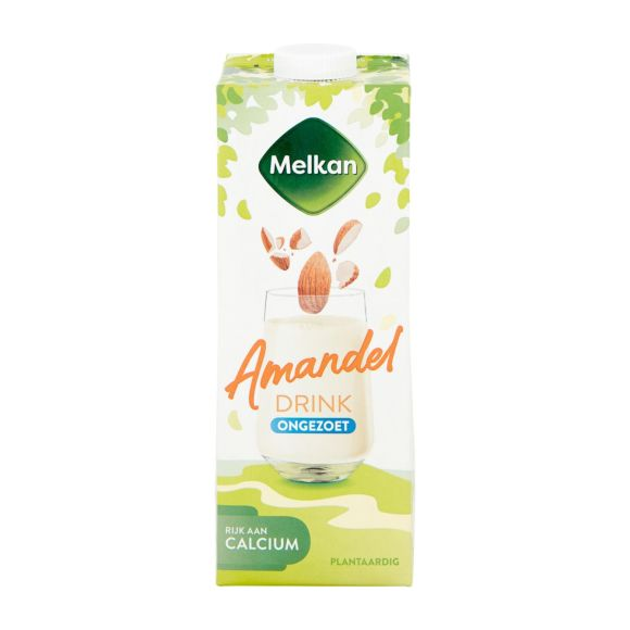 Melkan Amandel drink ongezoet product photo