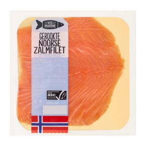 Vismarine Gerookte Noorse zalm product photo