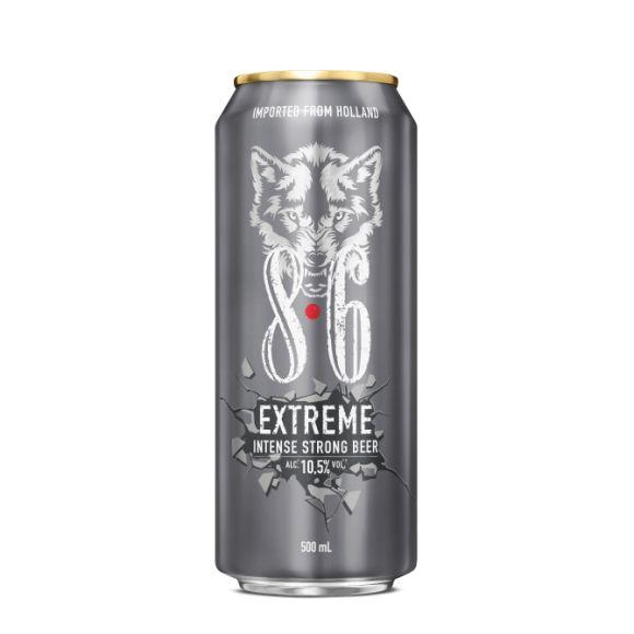 Bavaria 8.6 Extreme bier blik product photo