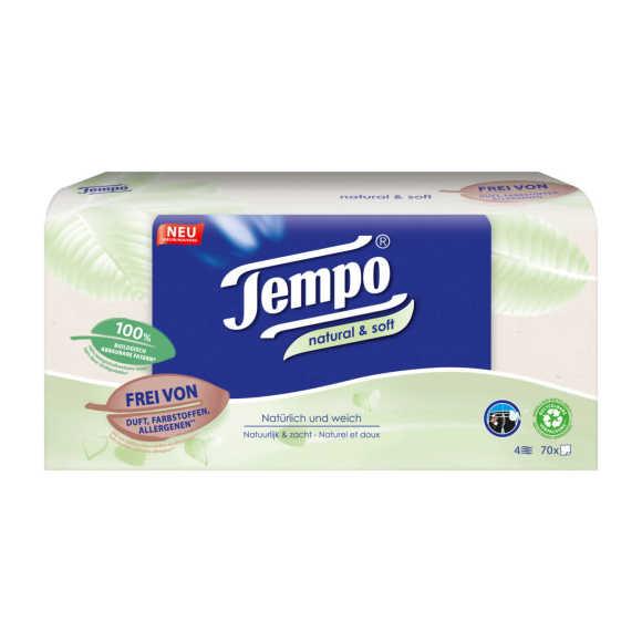 Tempo Natural & soft tissues box product photo