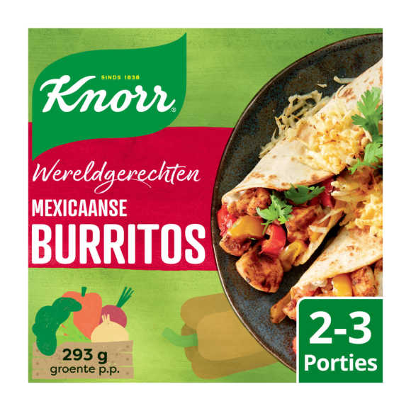 Knorr Wereldgerechten burritos product photo
