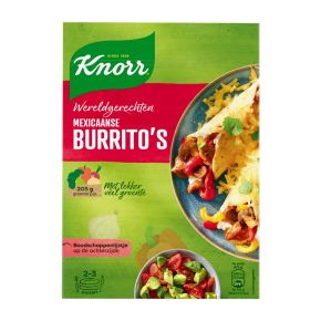 Knorr Wereldgerechten burritos product photo