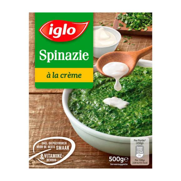 Iglo Spinazie á la creme product photo
