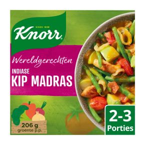 Knorr Wereldgerechten kip madras product photo