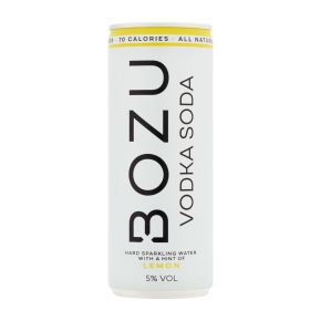 Bozu Vodka soda lemon product photo