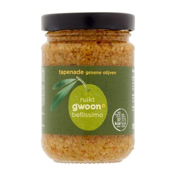 g'woon Tapenade groene olijven product photo