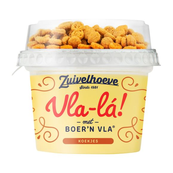 Zuivelhoeve Vla-La! koekjes product photo