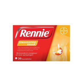 Rennie Sinaasappel kauwtabletten product photo