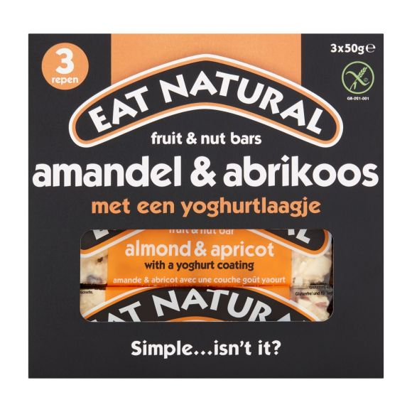 Almond Apricot Yoghurt 3 X 50 Gram product photo