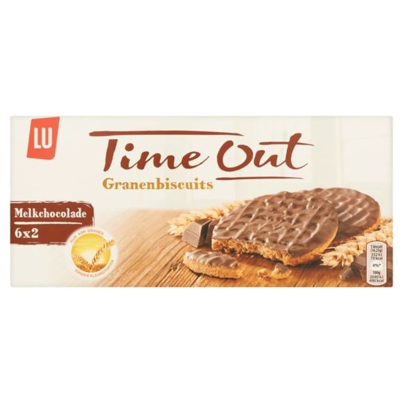 LU Time Out granenbiscuits melkchocolade product photo
