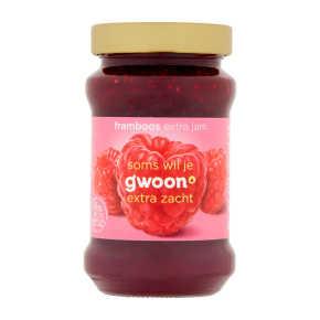 g'woon Extra jam frambozen product photo
