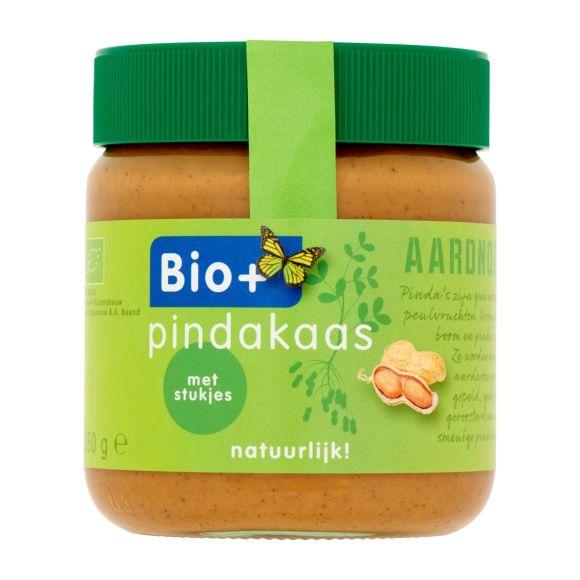 Bio+ Pindakaas met stukjes noot product photo
