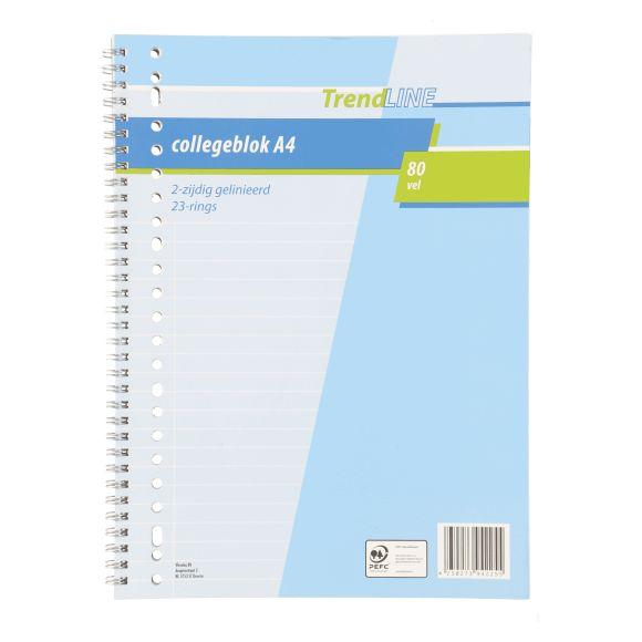 Trendline Collegeblok A4 80 vellen product photo