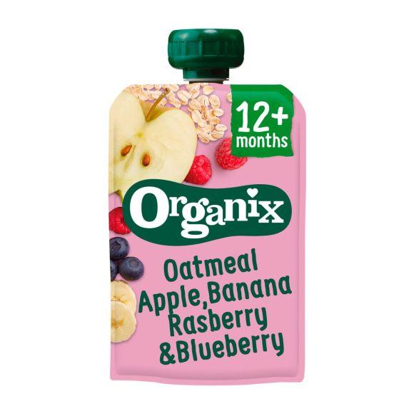 Organix 6+ appel banaan framboos product photo