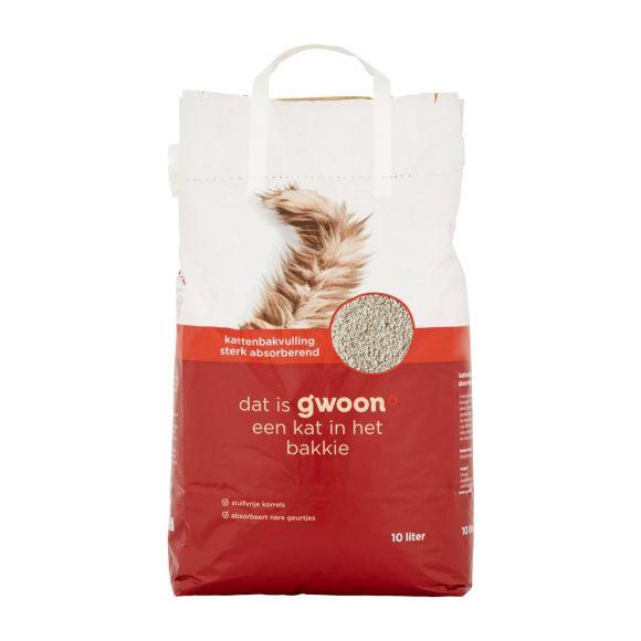 g'woon Kattenbakvulling 10 liter product photo