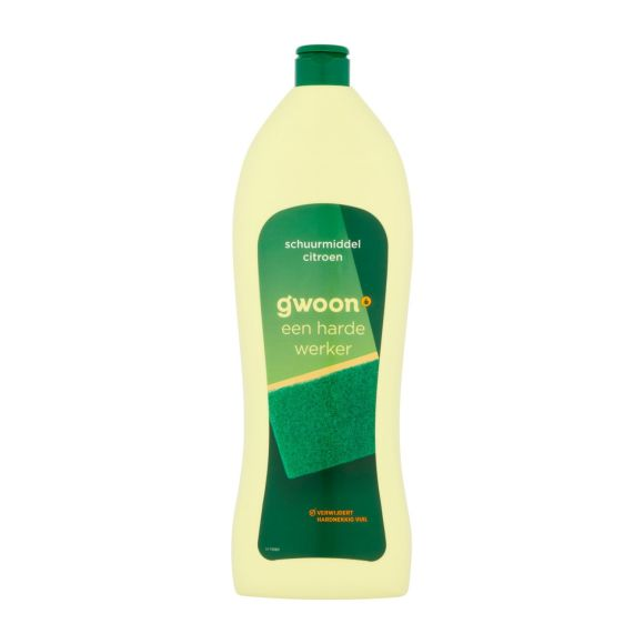 g'woon Schuurmiddel citroen product photo