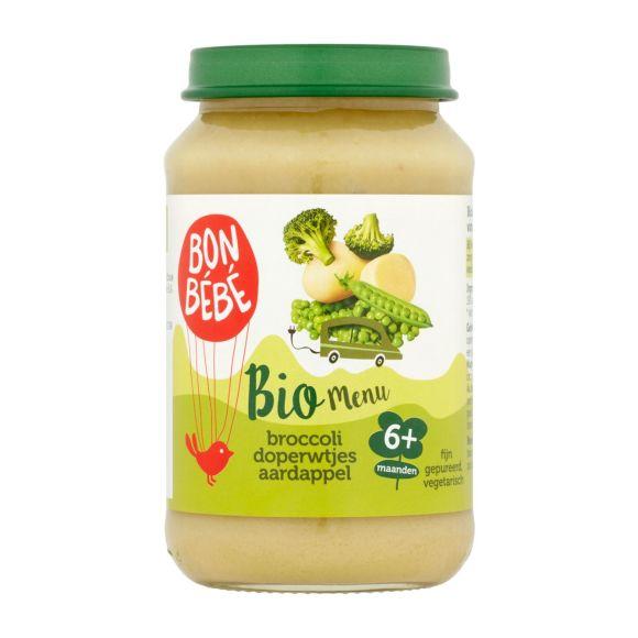 Bonbébé M0603 Broccoli aardappel doperwten product photo