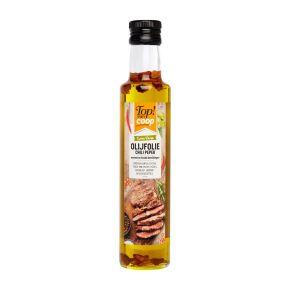Olijfolie met chili peper product photo